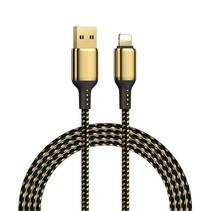 USB Lightning Kabel - Snellader iPhone - 2.0 meter - Goud