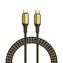 USB C naar Lightning Kabel - Snellader - 1.2 meter - Goud