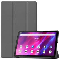 Lenovo Tab K10 (10.3 Inch) Hoes - Tri-Fold Book Case - Grijs