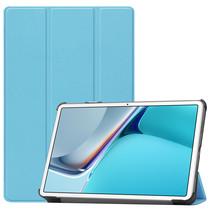 Huawei MatePad 11 Inch (2021) Hoes - Tri-Fold Book Case - Licht Blauw