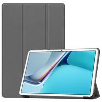 Huawei MatePad 11 Inch (2021) Hoes - Tri-Fold Book Case - Grijs