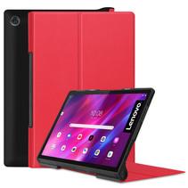 Lenovo Yoga Tab 11 (2021) Hoes - Tri-Fold Book Case - Rood