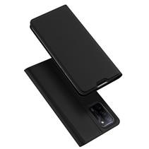 Oppo A53s Hoesje - Dux Ducis Skin Pro Book Case - Zwart