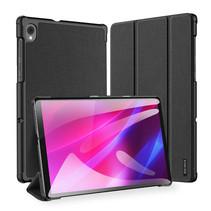 Lenovo Tab K10 hoes (TB-X6C6) - Dux Ducis Domo Book Case - Zwart