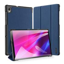 Lenovo Tab K10 hoes (TB-X6C6) - Dux Ducis Domo Book Case - Donker Blauw