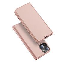 iPhone 13 Pro Hoesje - Dux Ducis Skin Pro Book Case - Rosé-Goud