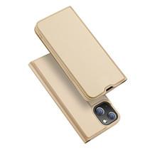 iPhone 13 Pro Hoesje - Dux Ducis Skin Pro Book Case - Goud