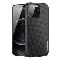iPhone 13 Pro hoesje - Fino Series - Back Cover - Zwart