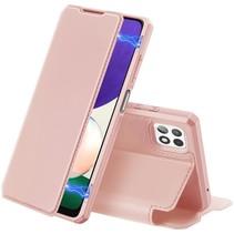 Samsung Galaxy A22 5G Hoesje - Dux Ducis Skin X Wallet Case - Roze