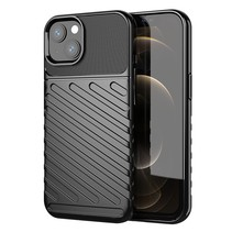 iPhone 13 Hoesje - Schokbestendige TPU back cover - Zwart