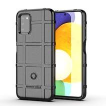 Samsung Galaxy A03s Hoesje - Schokbestendige TPU back cover - Zwart