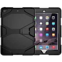 Case2go - Tablet hoes geschikt voor iPad 2021 - 10.2 Inch - Extreme Armor Case - Zwart