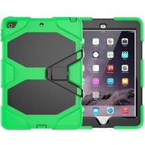 Case2go - Tablet hoes geschikt voor iPad 2021 - 10.2 Inch - Extreme Armor Case - Groen