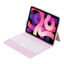 Case2go - Bluetooth toetsenbord Tablet hoes geschikt voor iPad 2021 - 10.2 Inch - QWERTY - Met auto Wake/Sleep functie - Roze