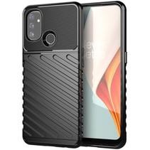 Case2go - Hoesje geschikt voor OnePlus Nord N200 5G - Schokbestendige TPU Back Cover - Zwart