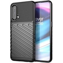 Case2go - Hoesje geschikt voor OnePlus Nord CE 5G - Schokbestendige TPU Back Cover - Zwart