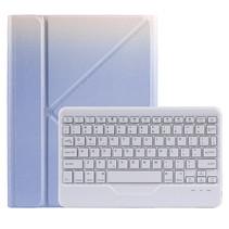 Case2go - Draadloze Bluetooth toetsenbord Tablet hoes geschikt voor iPad Air 2020 10.9 inch met Stylus Pen Houder - Paars