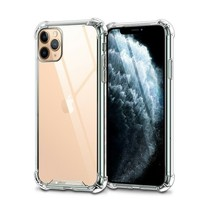Telefoonhoesje geschikt voor Apple iPhone 13 Pro - Super Protect Back Cover - Transparant