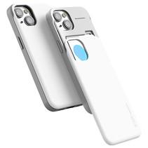 Telefoonhoesje geschikt voor Apple iPhone 13 - Mercury Sky Slide Bumper Case - Wit
