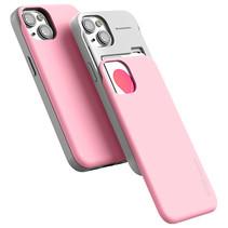 Telefoonhoesje geschikt voor Apple iPhone 13 - Soft Feeling Case - Back Cover - Licht Roze