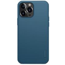 Telefoonhoesje geschikt voor iPhone 13 Pro - Super Frosted Shield Pro - Back Cover - Blauw