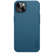 Telefoonhoesje geschikt voor iPhone 13 - Super Frosted Shield Pro - Back Cover - Blauw