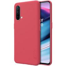 Telefoonhoesje geschikt voor OnePlus Nord CE 5G - Super Frosted Shield - Back Cover - Rood