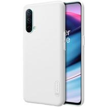 Telefoonhoesje geschikt voor OnePlus Nord CE 5G - Super Frosted Shield - Back Cover - Wit