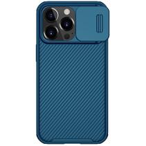 Telefoonhoesje geschikt voor Apple iPhone 13 Pro - CamShield Pro Armor Case - Back Cover - Blauw