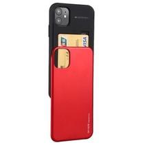 Telefoonhoesje geschikt voor Apple iPhone 13 Mini - Mercury Sky Slide Bumper Case - Rood