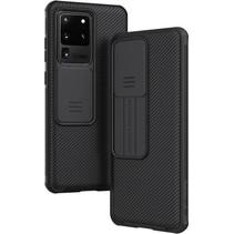 Samsung Galaxy Galaxy S20 Ultra / S20 Ultra 5G cover - CamShield Pro Armor Case - Zwart