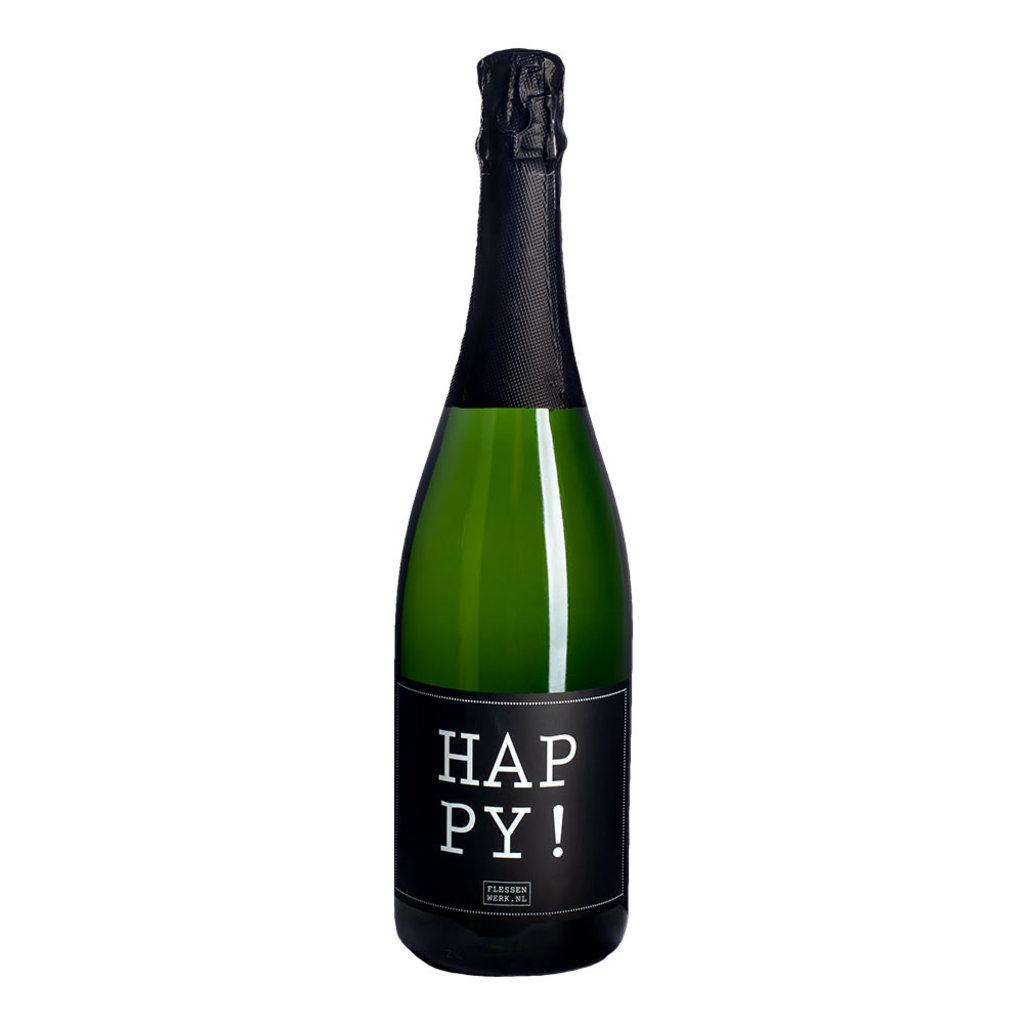 Flessenwerk Happy! - per 6