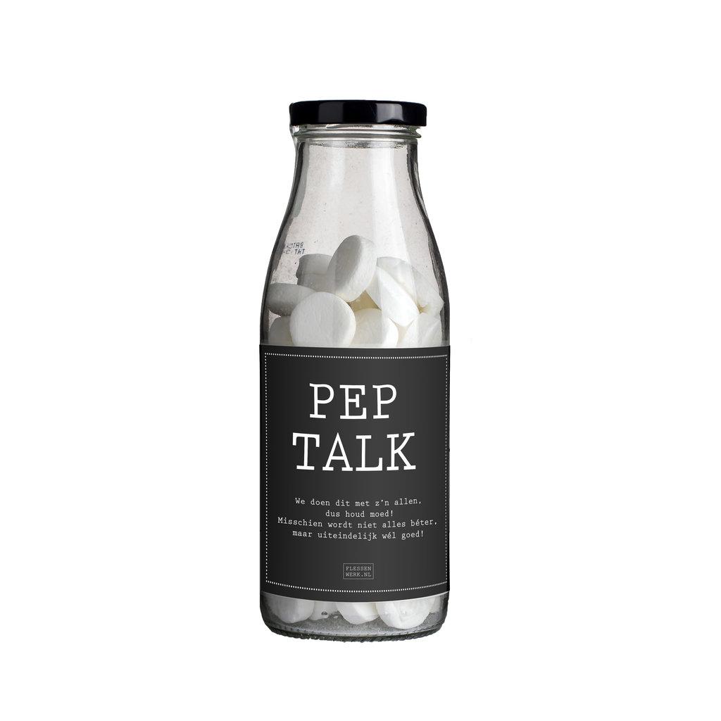 Flessenwerk Peptalk - We doen dit met z'n allen - per 12