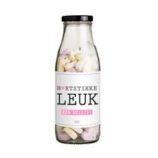 Flessenwerk Hartstikke leuk, een meisje! - per 12