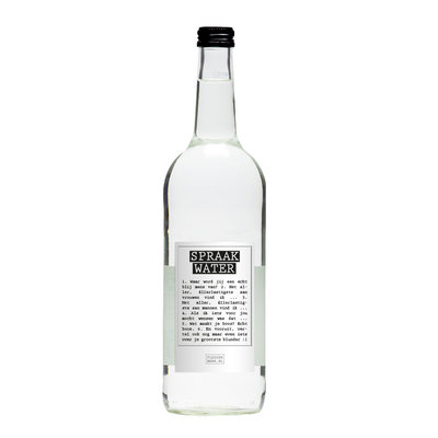 Flessenwerk Spraakwater - per 12