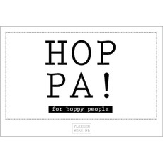 Flessenwerk Hoppa bier klein - per 24