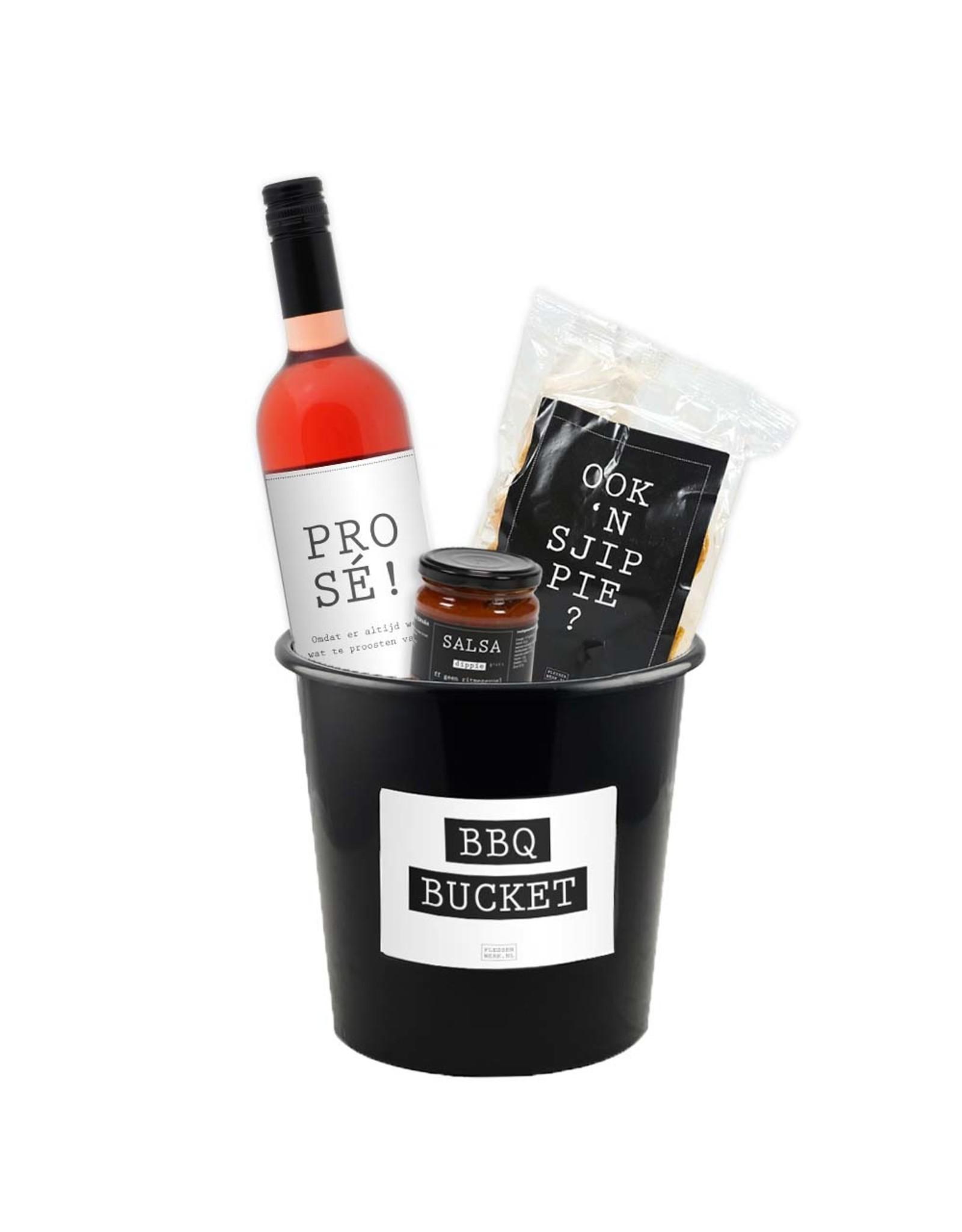 BBQ-bucket - klein (3 liter) - per 12