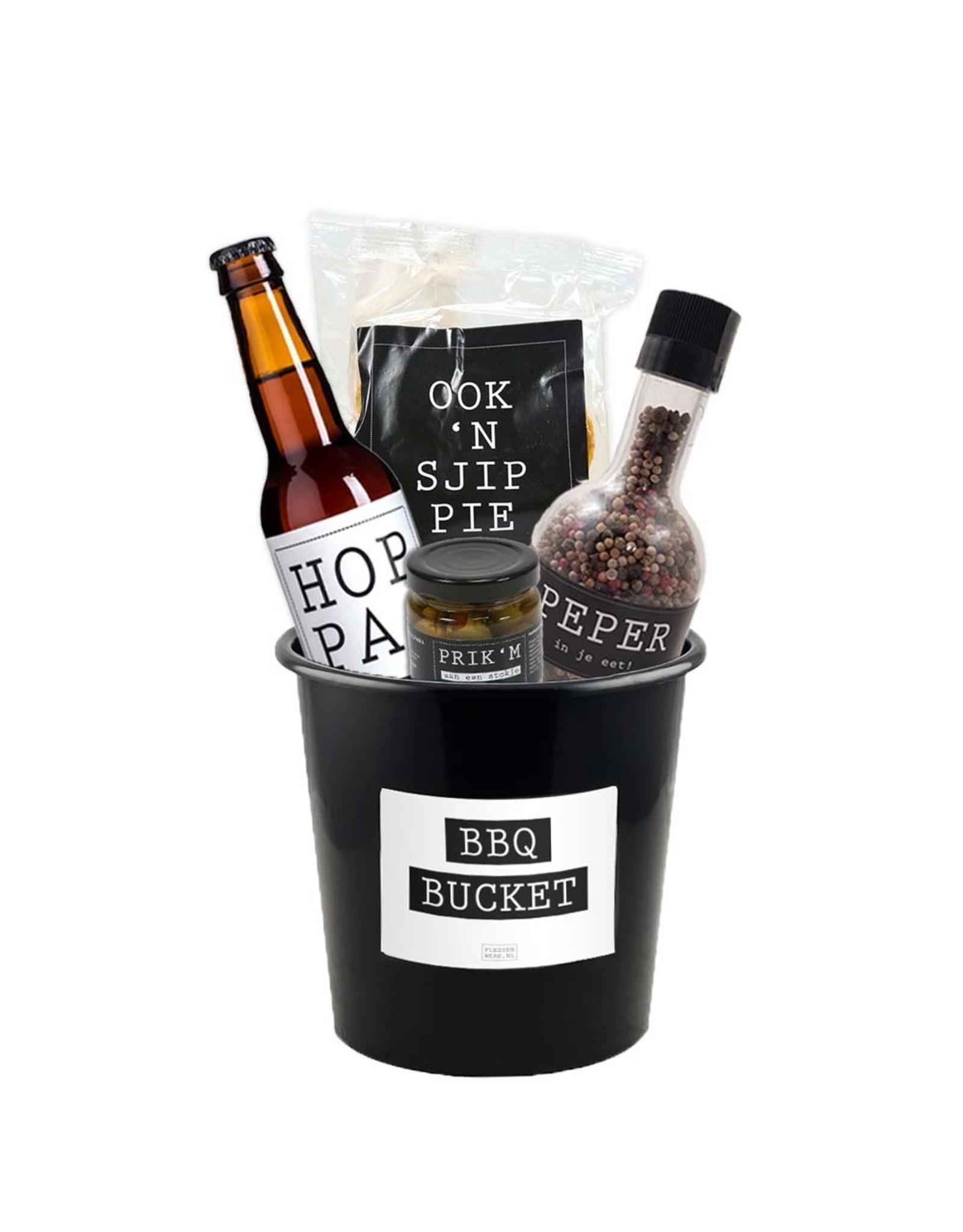 BBQ-bucket - groot (8 liter) - per 12