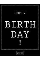 Hoppa groot - Hoppy Birthday - per 6