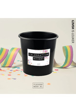 Flessenwerk Celebration bucket  - groot (8 liter) - per 12