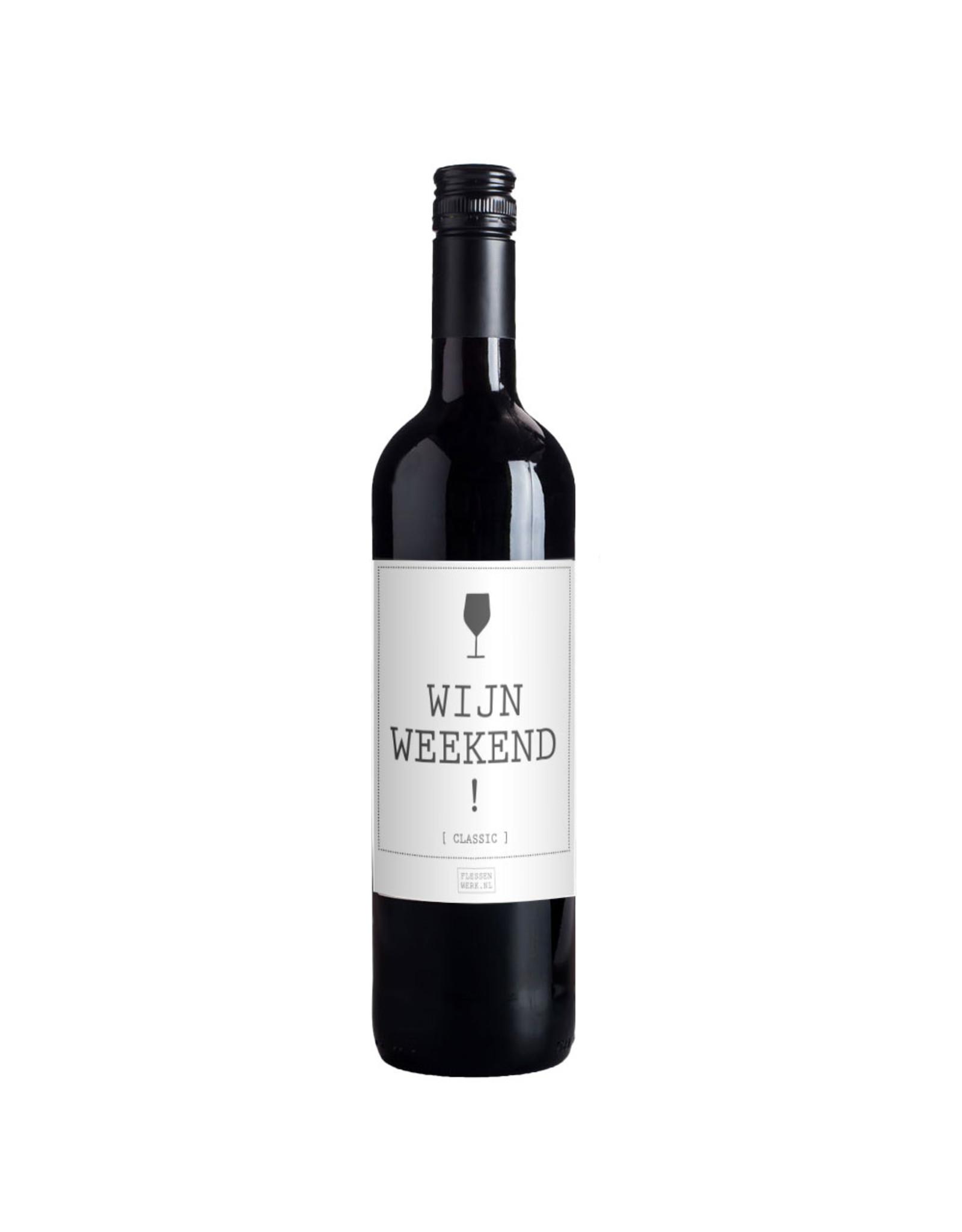 Wijn weekend! - per 6