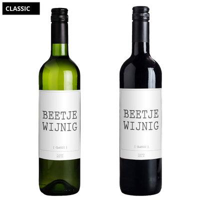 Flessenwerk Beetje wijnig - per 6
