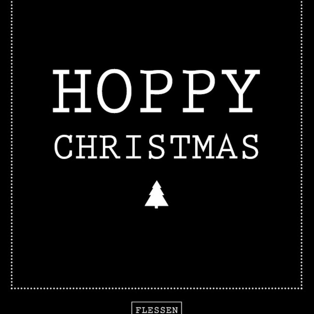 Flessenwerk Hoppa groot - Hoppy Christmas - per 6