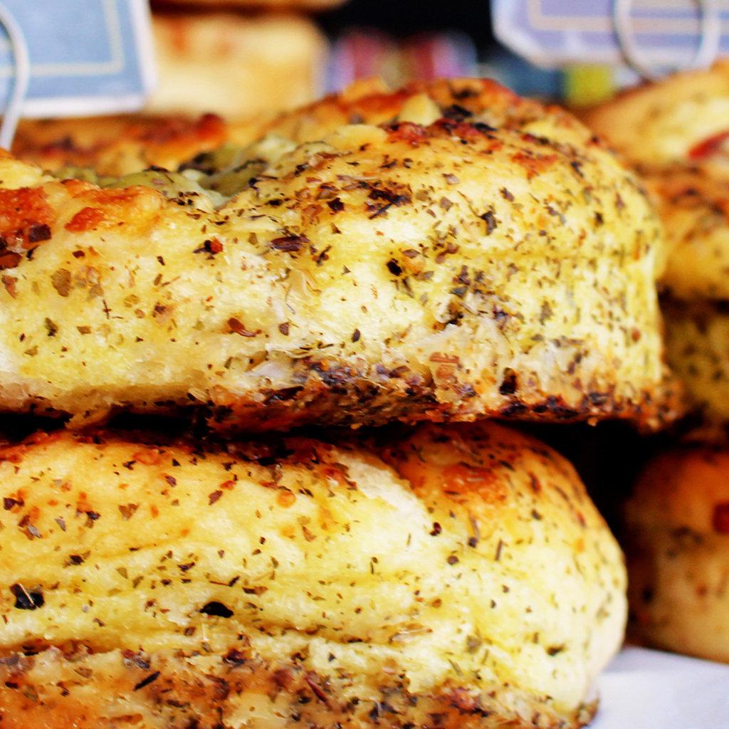 Vers uit de Polder Zak met broodmix - Focacciabrood - per 12
