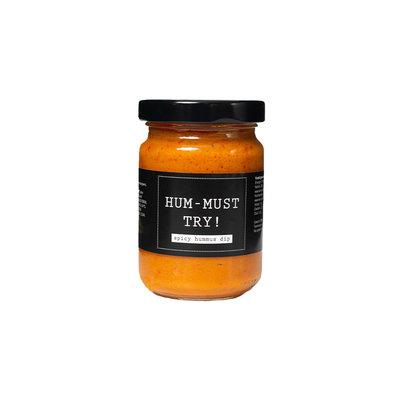 Flessenwerk HUM-MUST-TRY - spicy hummus - per 6
