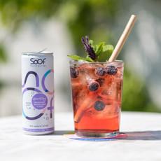 Soof drinks SOOF - Sparkling Zwarte Bes, Lavendel, Appel - per 12