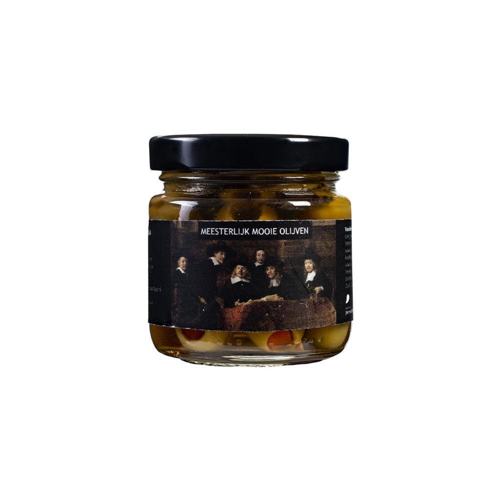 Painting Presents Meesterlijk mooie olijven - per 12