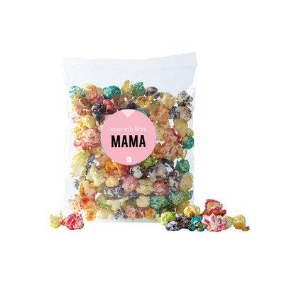 Eat your present Gekleurde popcorn - mama - per 6