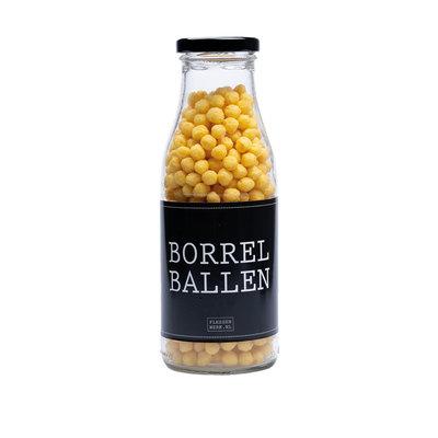 Flessenwerk Borrelballen - per 12