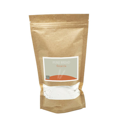 Giving Natural Pure natural bread - Focaccia - per 12